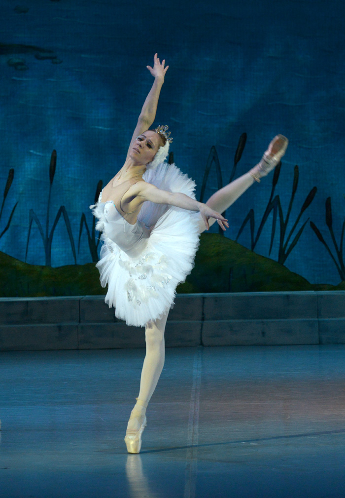 балет лебединое озеро. фото