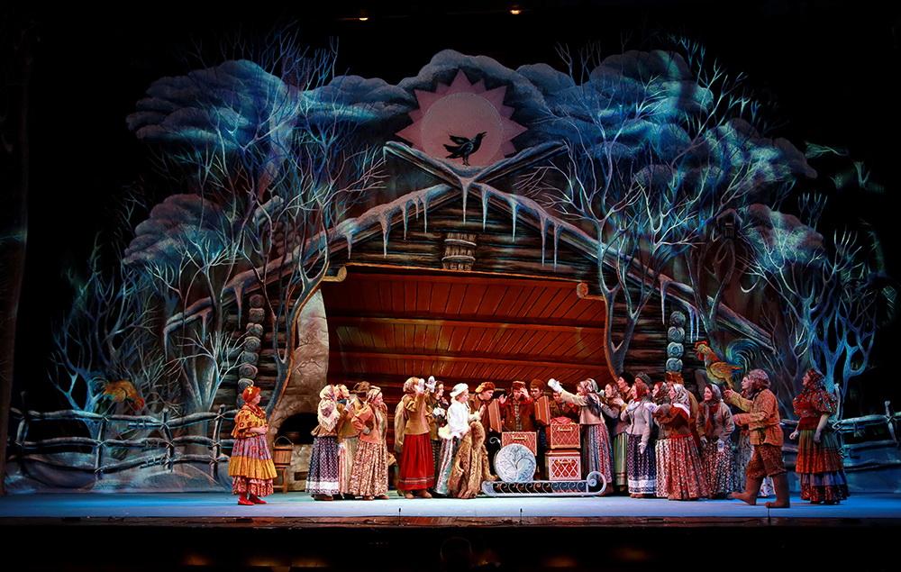 Морозко Московский Государственный Академический Детский Музыкальный Театр имени Наталии Ильиничны Сац